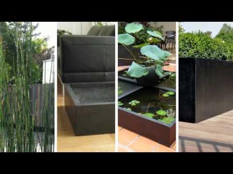 Fiberglas Pflanzkübel - Fiberglas Blumenkübel und Pflanzgefäße von Eastwest Trading