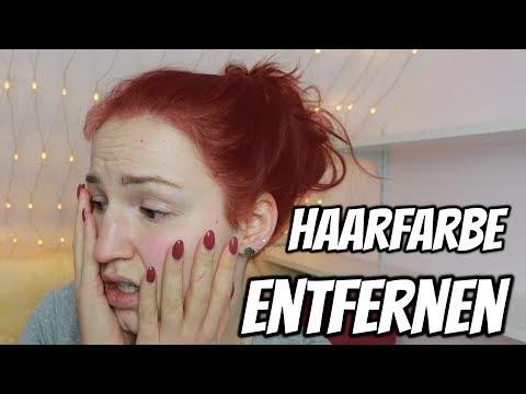 Meine Haare sind Rot!! Haarfarbe entfernen mit Hausmitteln | Lena's Lifestyle