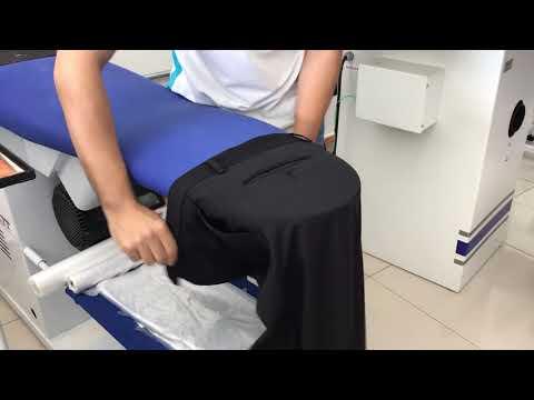 Passando calça social - Easy Clean Lavanderia Lavanderia Sorocaba Lavagem de Tapetes Sorocaba Higienização de Sofá Sorocaba