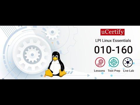 010-160: LPI Linux Essentials Certification Training - YouTube