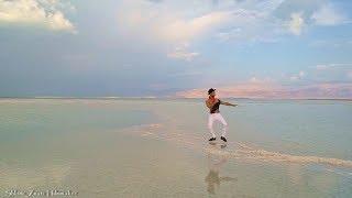 DJADJA Cover And Dance For MAOR LUZ Fashion   Dead Sea Israel   Creator SHLOMI ZNATI