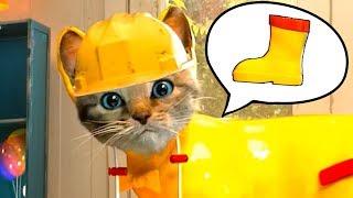 ПРИКЛЮЧЕНИЕ МАЛЕНЬКОГО КОТЕНКА / мультфильм для детей про котенка / Детская игра от КИДА #пурумчата