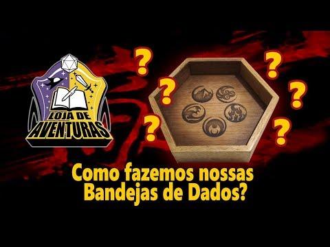 COMO SÃO FEITAS NOSSAS BANDEJAS DE DADOS?
