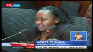KTN Prime: Miss Josephine Kabura admits to owning several companies linked to NYS Scandal, 1/11/16