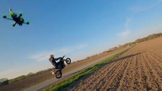 Supermoto Ktm wheeli Compilation in Germany - Dji FPV System - Freestyle Germany - Mc Fly FPV