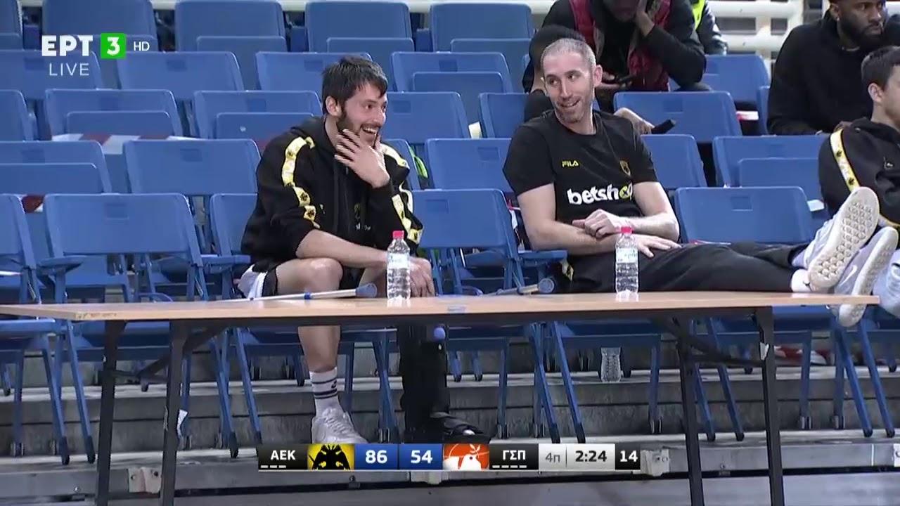 Basket League | Στο ΟΑΚΑ με μπότα ο τραυματίας Γκίκας | 07/02/21 | ΕΡΤ