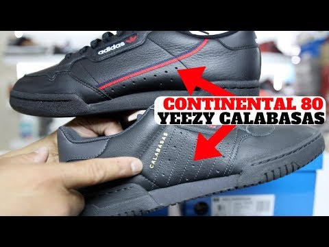 adidas Continental 80 vs Yeezy Powerphase Calabasas Compared!! + Giveaway