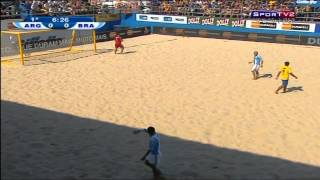Futebol de Areia - Brasil X Argentina