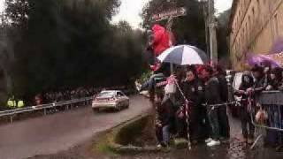 preview picture of video '15° Rally Castelli Romani 2011 (PS2/PS3: Frascati-Tuscolo)'