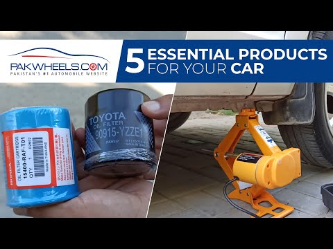Five Essential Products For Your Car   PakWheels Auto Store