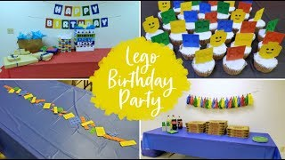 Lego Birthday Party | Decorate With Me