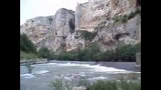 preview picture of video 'Foz de Lumbier, Navarra'