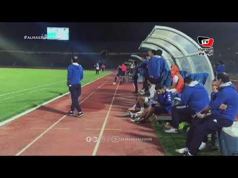 رد فعل الجهاز الفني لبيراميدز عقب هدف الفوز على طنطا في كأس مصر