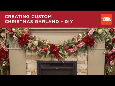 Creating Custom Christmas Garland - DIY | Hobby Lobby®