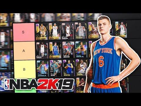 RANKING THE BEST POWER FORWARDS IN NBA 2K19 MyTEAM!! (TIER LIST)