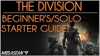 Tom Clancy's The Division For Beginners. For New/Solo Players. XP, Talents, Skills, Perks, Unlocks..