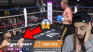 Reacting to Adam Saleh's Pro Boxing Debut (Adam Vs Marcus)