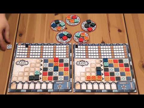 Azul társasjáték - d3meeples
