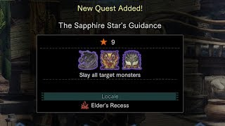 Monster Hunter World: The Sapphire Star's Guidance (Special Quest)