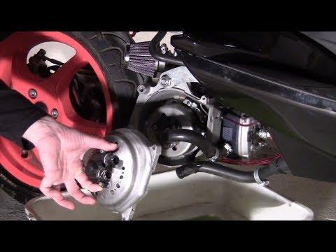 Tuto remplacer et réparer sa pompe à eau sur Nitro / Aérox / Ovetto / ...