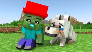 Wolf Life 12   Minecraft Animation