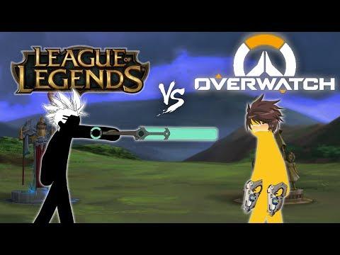 LOL vs OW 角色