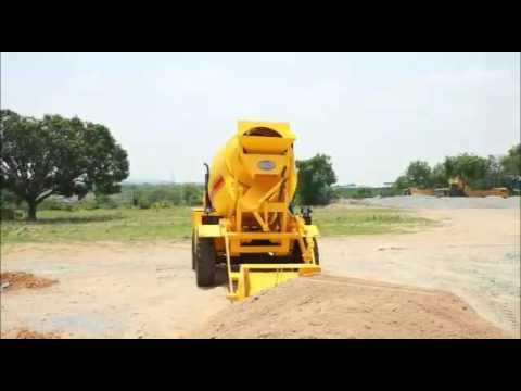 Self Loading Concrete Mixer Civimec MCM 4000