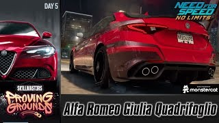 Need For Speed No Limits: Alfa Romeo Giulia Quadrifoglio | Proving Grounds (Day 5 - Elimination)