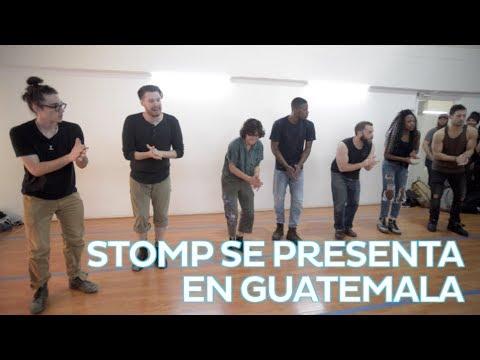Stomp se presenta en Guatemala