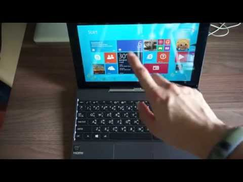 Review Asus Transformer Book T100 (Thai)
