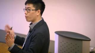 2013 University of Waterloo 3MT finalist: David Qian