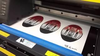 Reproduction Machine Badge Printing