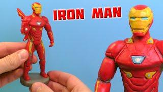 ЖЕЛЕЗНЫЙ ЧЕЛОВЕК - Лепим из пластилина | Iron Man