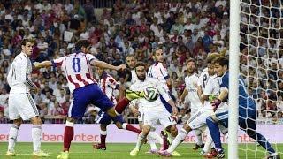 preview picture of video 'Goles de Supercopa de España 2014 (ida) Real Madrid - Atlético de Madrid (Tiempo de Juego COPE)'