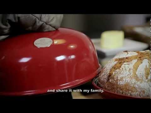 Форма с куполом для выпечки хлеба Emile Henry (лён)