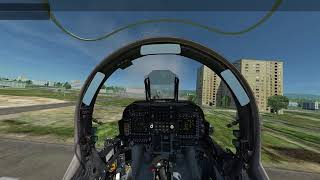 [DCS 1.5] Harrier in Helicopter Gun Shooting Range