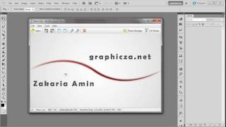 Glowing Curved  Line Simulate To Pen Pressure_Photshop Tutorial