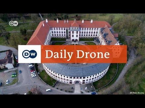 #DailyDrone: Elisabethenburg Palace | DW English