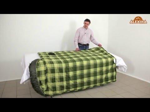 Смотреть видео Спальный мешок Alexika Siberia Wide Plus