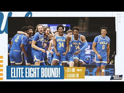 Alabama vs. UCLA – Sweet 16 NCAA tournament extended highlights