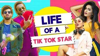 Life Of A TikTok Star Ft. Abhinav Anand (Bade) & Gima Ashi| Hasley India
