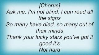 311 - Thank Your Lucky Stars Lyrics