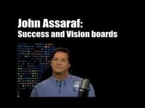 John Assaraf's Vision Board Secret