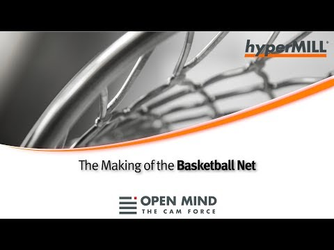 5 Axis Machining: Basketball Net