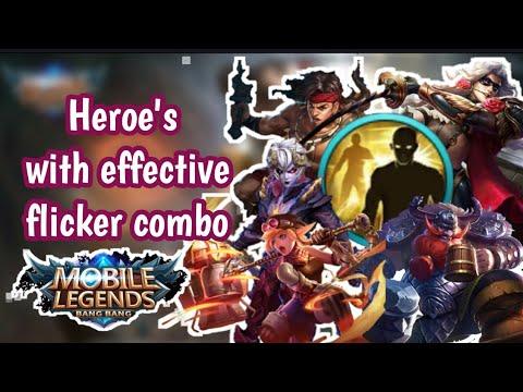 Heroes Flicker combo compilation