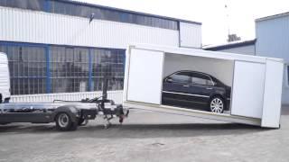 Hakowiec,  Hackenlift, Sliding Roll-off System, Sliding Flatbed, Eurotechnik