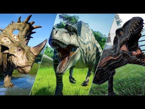 ALL 62 DINOSAURS - Jurassic World Evolution