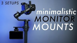 How to Mount a Monitor to DJI Ronin S | 3 Setups