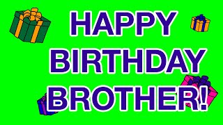 HAPPY BIRTHDAY BROTHER! Birthday Cards