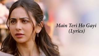 Ve Main Teri Ho Gayi Aa Full Song With Lyrics Millind Gaba | Pallavi Gaba
